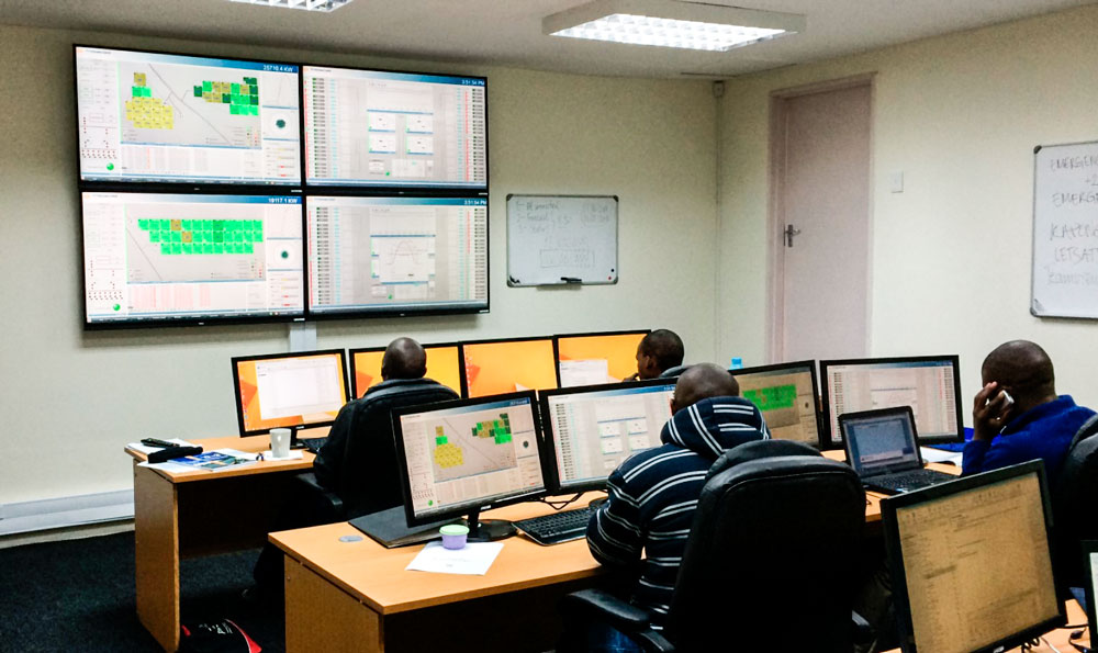 PVH Control Room, Bloemfontain, South Africa