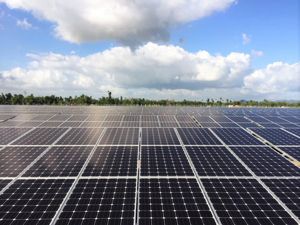 Leyte PVH solar project at Phillipines