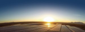 Camargo solar plant use solar trackers by PVH